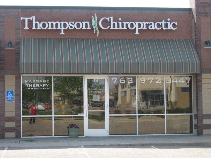 thompson chiropractic delano mn